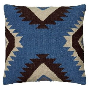 Blue Kilim Pillow | The Factual Fairytale