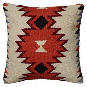 Aztec Kilim Pillow | The Factual Fairytale