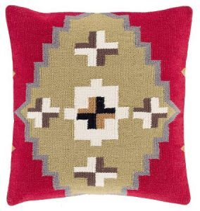 Pink Kilim Pillow |The Factual Fairytale