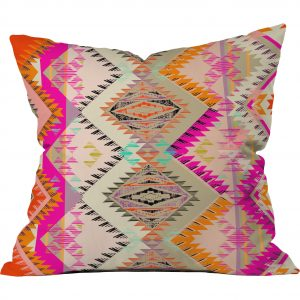 Pink Southwest Aztec Pillow