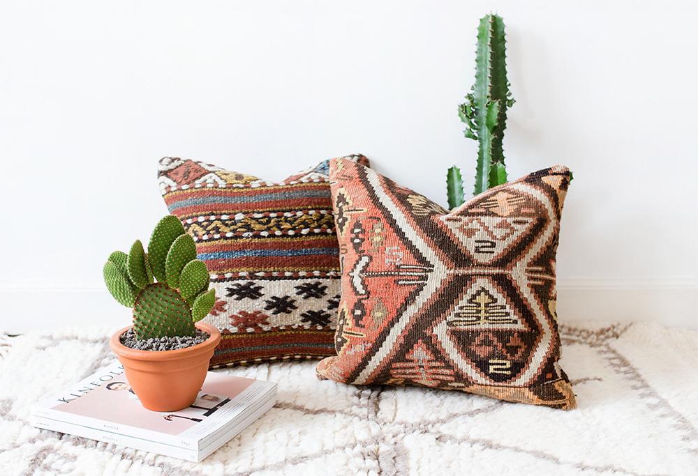 Turkish Kilim Pillows | The Factual Fairytale