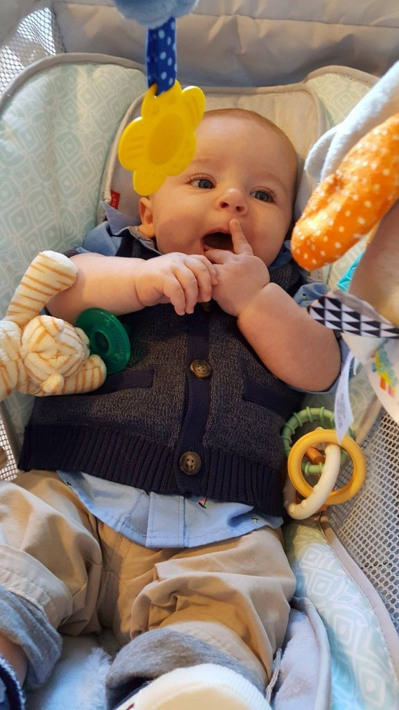 Genius Mom Hacks: DIY Baby Toy Arch for Rock 'n' Play