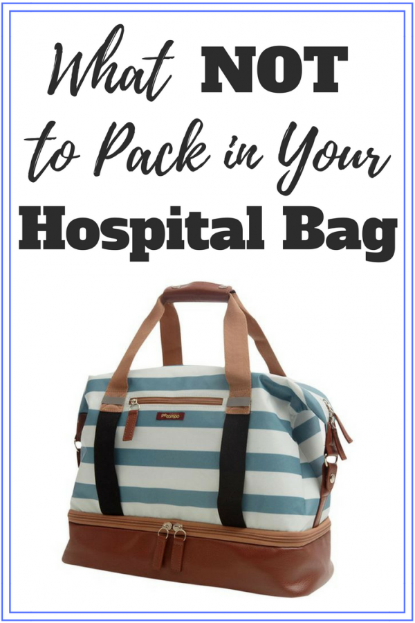What NOT to Pack in Your Baby Hospital Bag