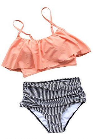 e24ec9beaac97 Cute Mom Swimsuits 2019 | Mom Bikini, Tankini & One-Pieces