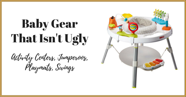 Baby gear that isn't ugly