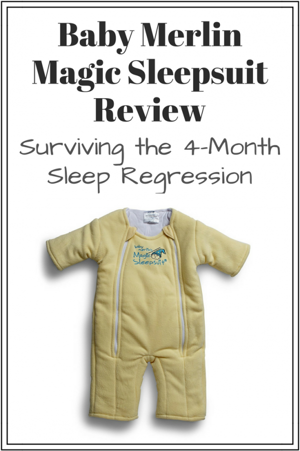 Baby merlins magic sleepsuit review: 4-month sleep regression