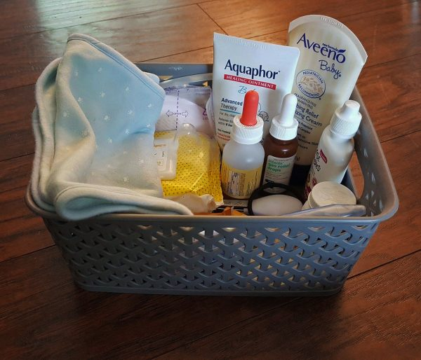 Breastfeeding Survival Kit Supply Basket