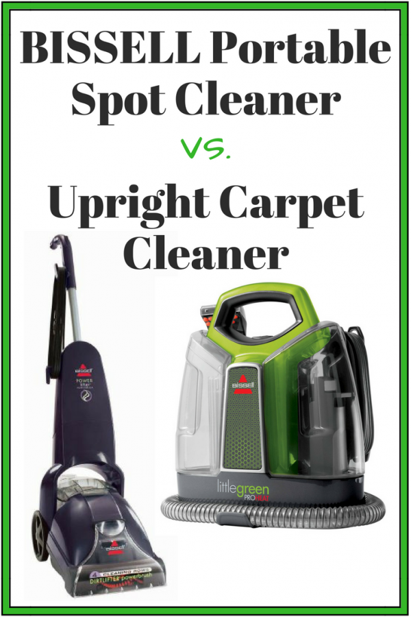 Bissell Portable Spot Cleaner Vs Upright Carpet Cleaner