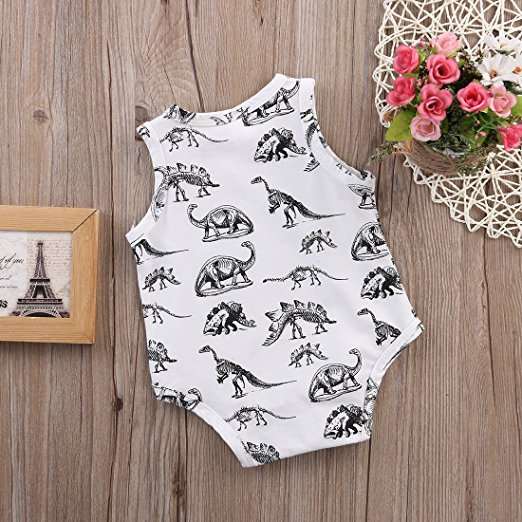 Dino Onesie | Trendy Cheap Baby Clothes Online