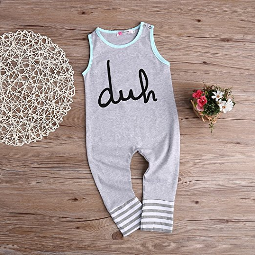 duh romper | cheap baby clothes online | Amazon
