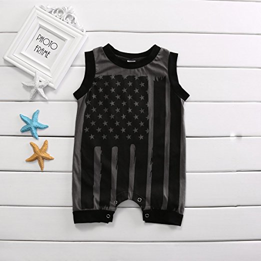 Flag Romper | Trendy Cheap Baby Clothes Online
