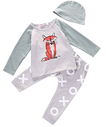 fox xo outfit | Trendy Cheap Baby Clothes Online