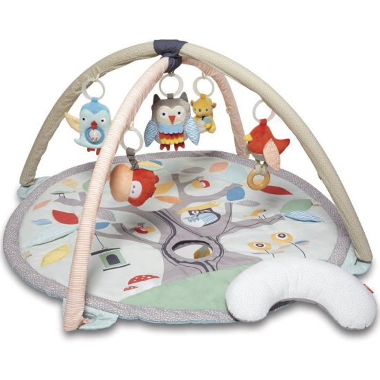 gray woodland playmat | Baby gear that isn't ugly