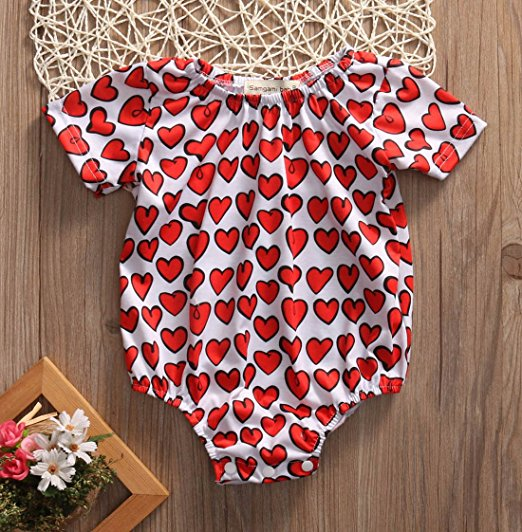Heart Onesie | Trendy Cheap Baby Clothes Online