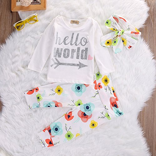 Hello World Outfit | Trendy Cheap Baby Clothes Online