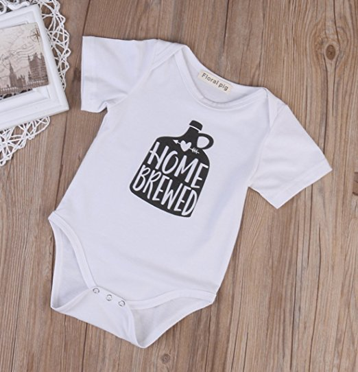 home brewed onesie | cheap baby clothes online | Amazon