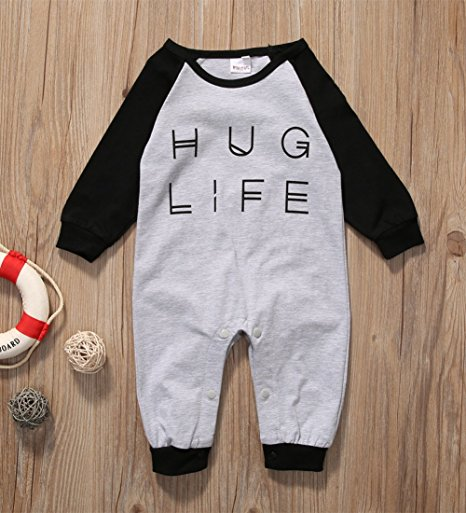 hug life romper | cheap baby clothes online | Amazon