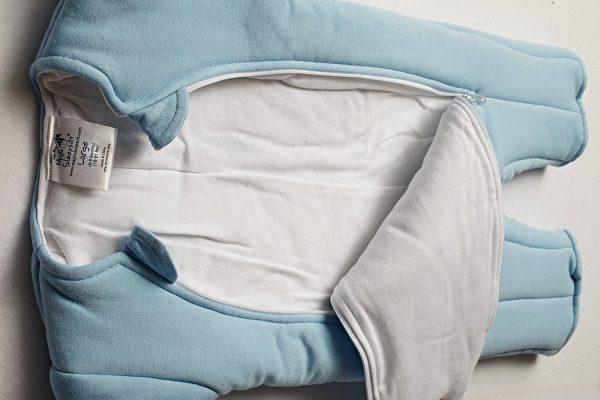 baby merlin's magic sleepsuit review inside