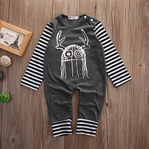 monster romper | Trendy Cheap Baby Clothes Online