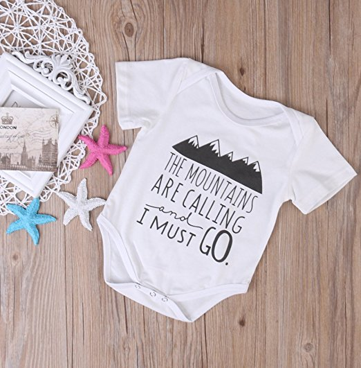 mountains are calling onesie | cheap baby clothes online | Amazon