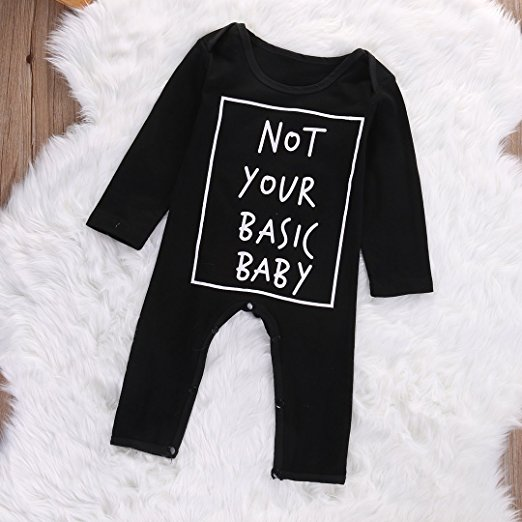 not your basic baby romper | Trendy Cheap Baby Clothes Online