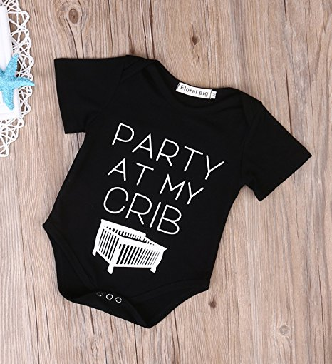 party at my crib onesie | cheap baby clothes online | Amazon