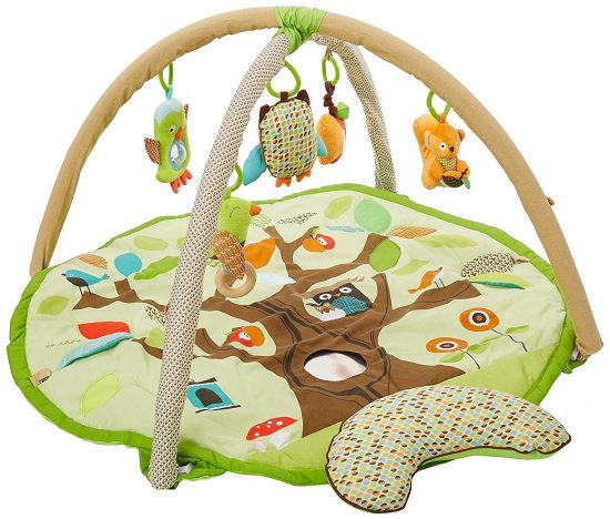 tan woodland playmat | Baby gear that isn't ugly