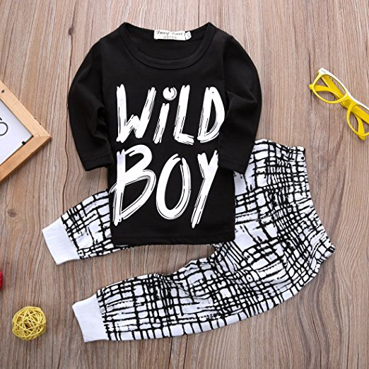 wild boy outfit | Trendy Cheap Baby Clothes Online
