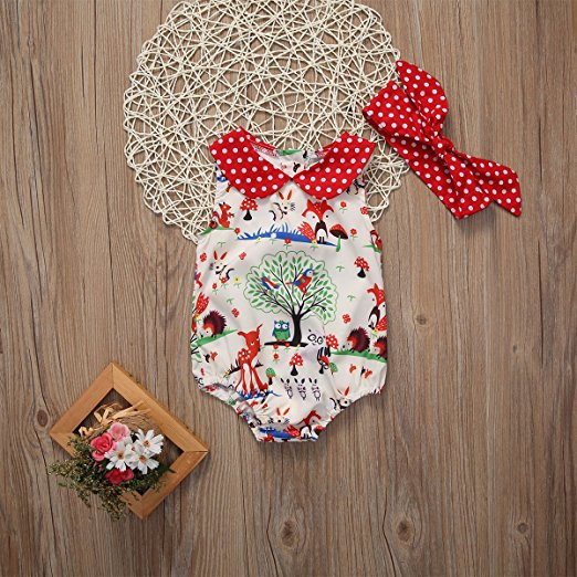 Woodland Romper | Trendy Cheap Baby Clothes Online