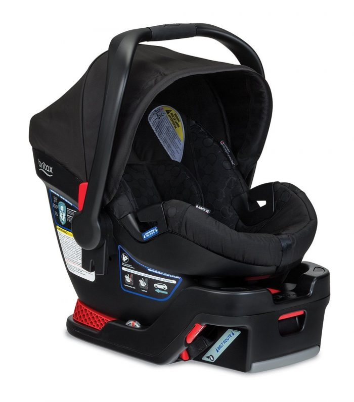 Britax B-Safe 35 Infant Car Seat | travel system vs. separate car seat and stroller