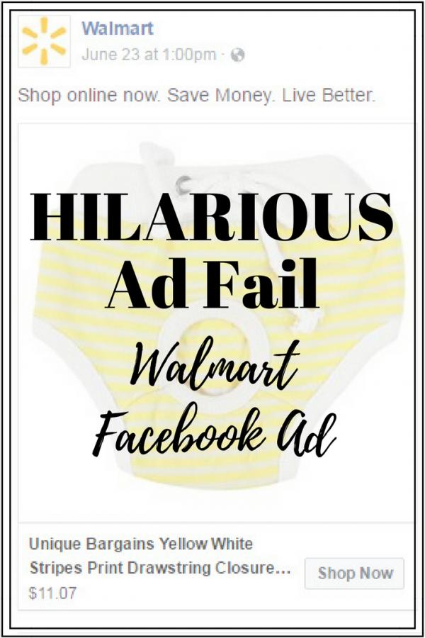 Hilarious Ad Fail: Walmart Facebook Ad