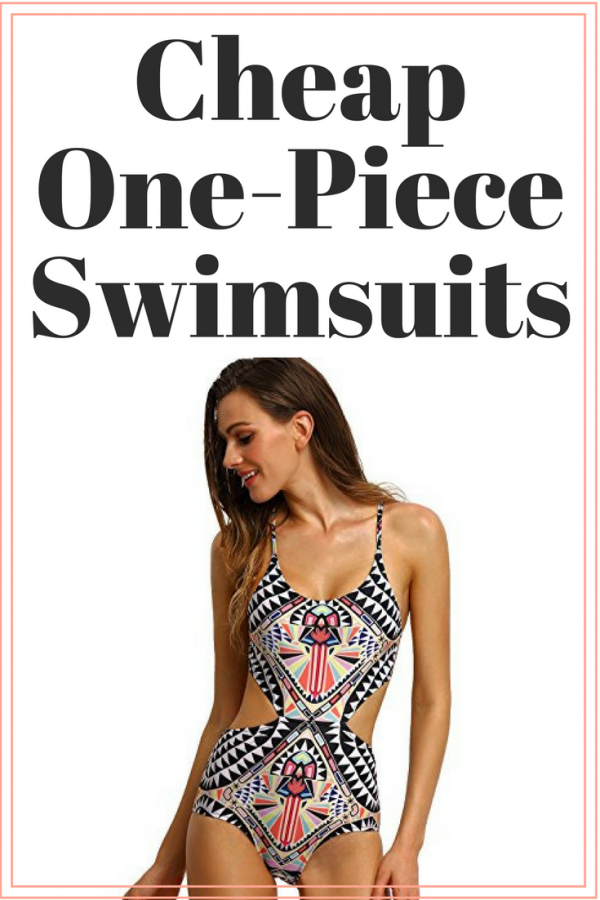 cheap one-piece swimsuit featured