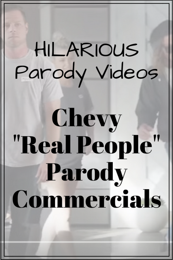 Chevy real people parody commercial