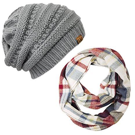 beanie scarf set