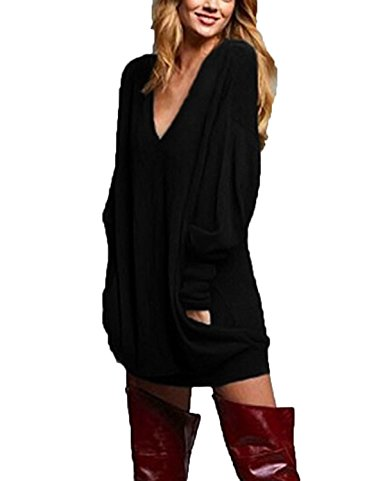 black pullover cheap tunic top