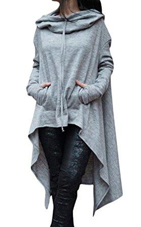 gray poncho cheap loungewear