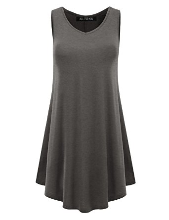 grey cheap tunic top for leggings