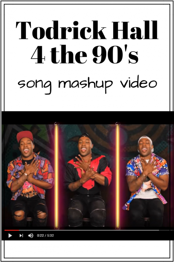 Todrick Hall 4 the 90's Song Mashup Video = AMAZING