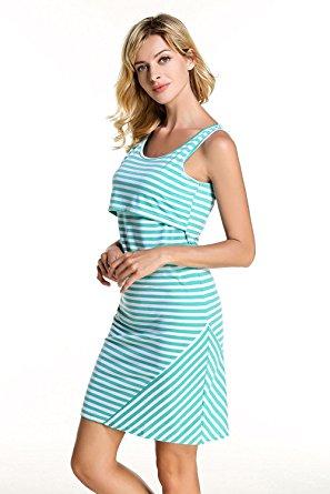 cute nursing dresses for breastfeeding
