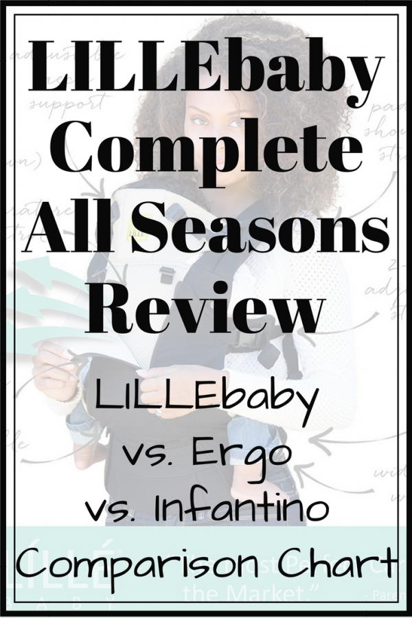 I'm sharing our LILLEbaby vs. Ergo vs. Infantino baby carrier journey & because it's our favorite, a LILLEbaby complete all seasons review and comparison!