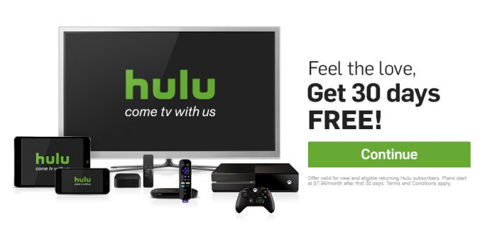 Hulu Offer Cutting Cable