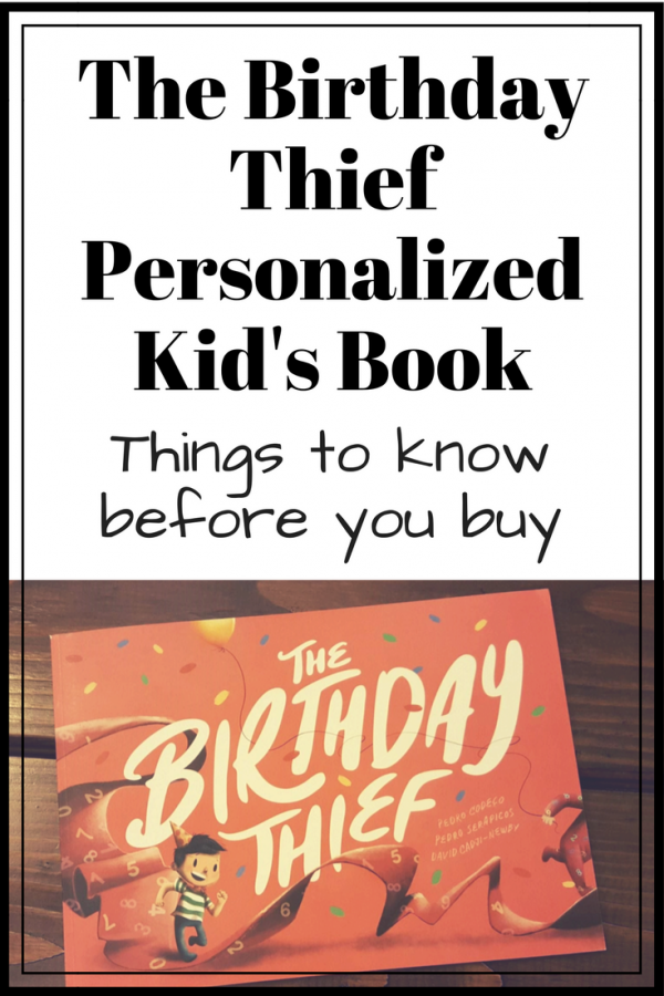 The Birthday Thief Book Review Wonderbly Personalized Kid's Book