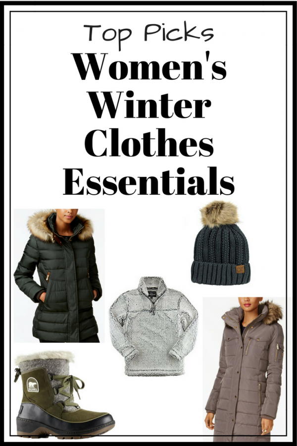 Top Picks for Women's Winter Clothes Essentials 2017