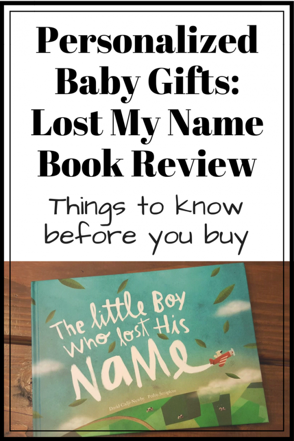 Wonderbly lost my name book review