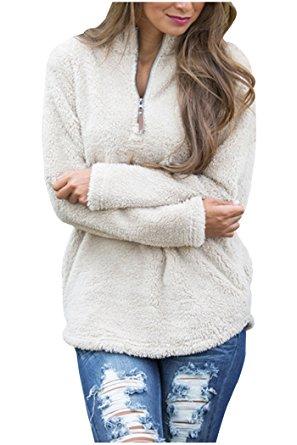 cream pullover amazon