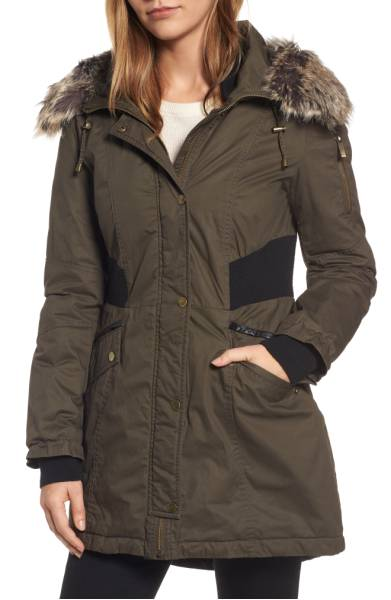 french connection parka norstrom