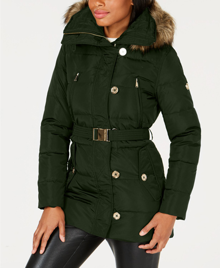 clover green puffer kenneth cole