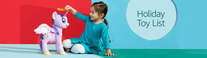 holiday toy list banner | Amazon Deal of the Day