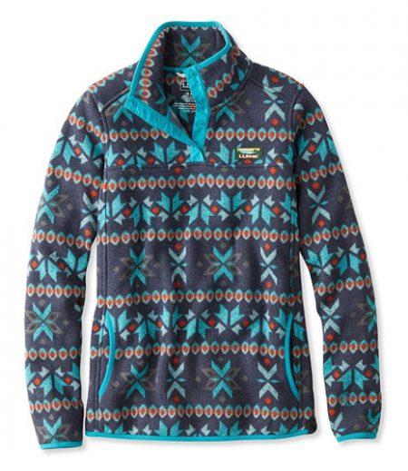 llbean fair isle pullover