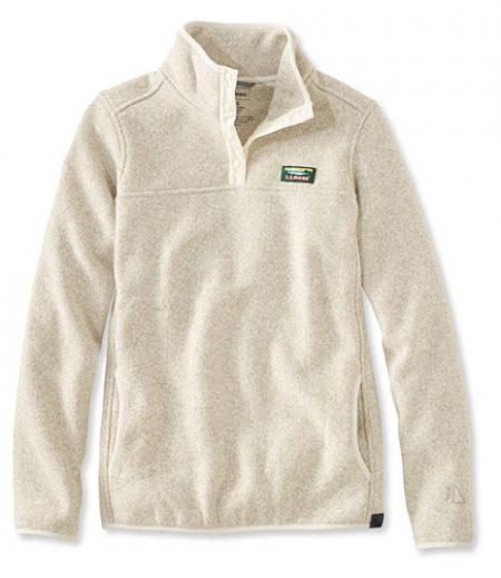llbean sailcloth pullover